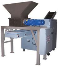 Picture of a Series 2 Hopper-Fed industrial pre-shredder
