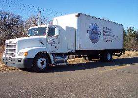 Picture of the shred truck